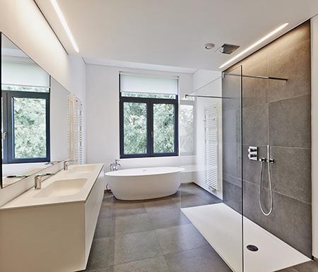 Installation de salle de bain à la Vallée-au-Blé